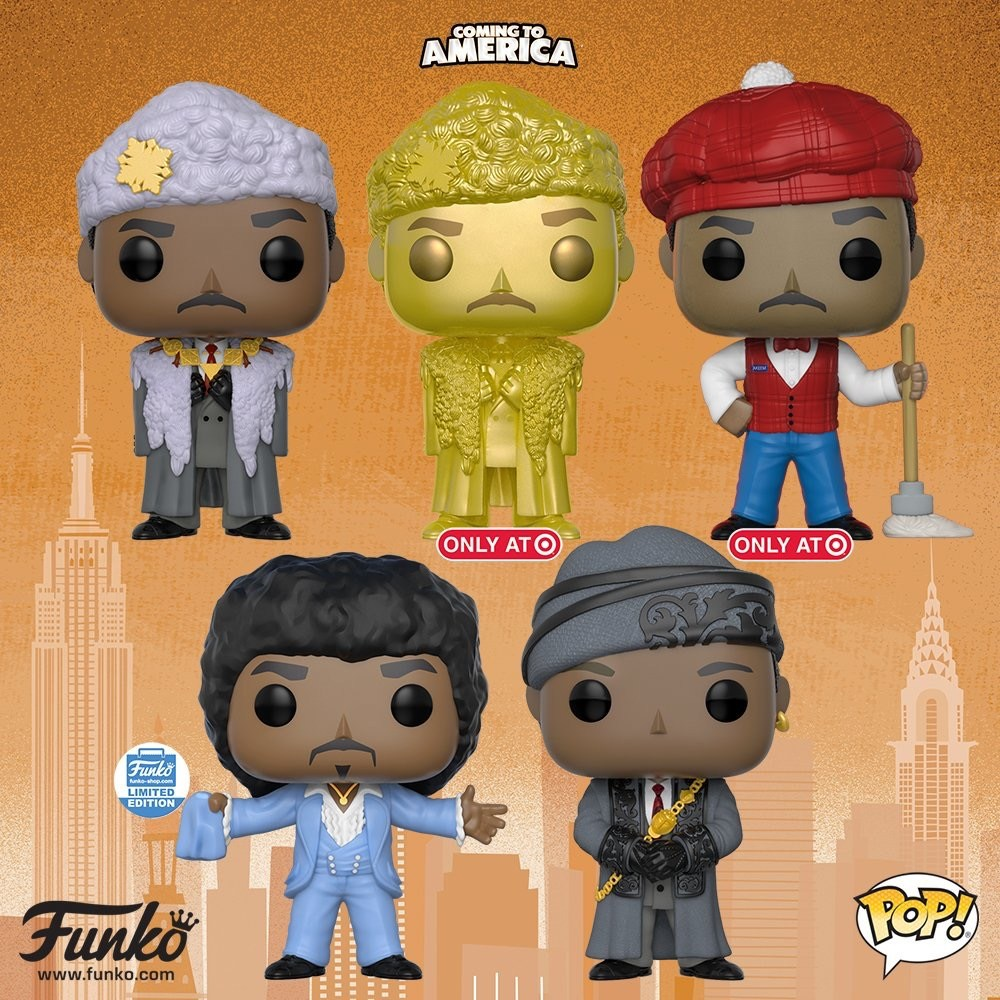 265ab0e87af Funko Announces Coming To America Pop! Figures at Toy Fair New York ...